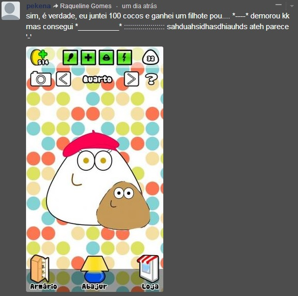 filhote do pou ever