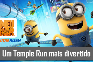 Minion Rush, um temple run mais divertido