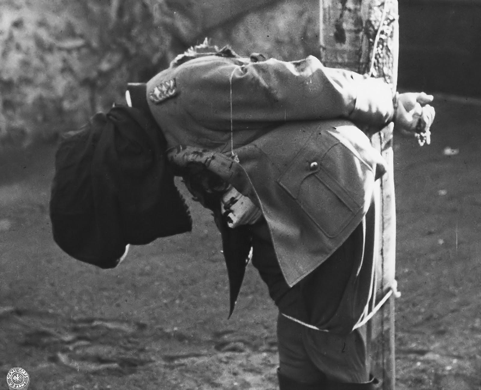 General Nazista após a execução