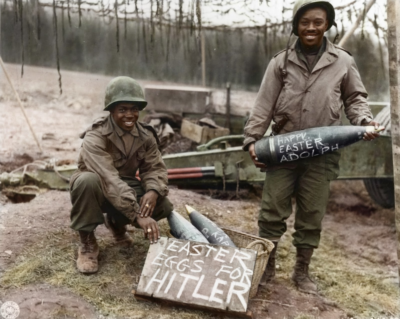 Ovos de Páscoa Hitler colorida